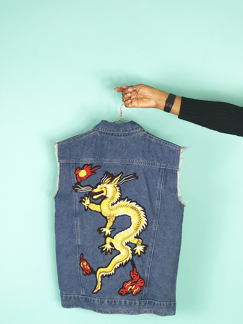 Denim Updates: Embroidered Patches