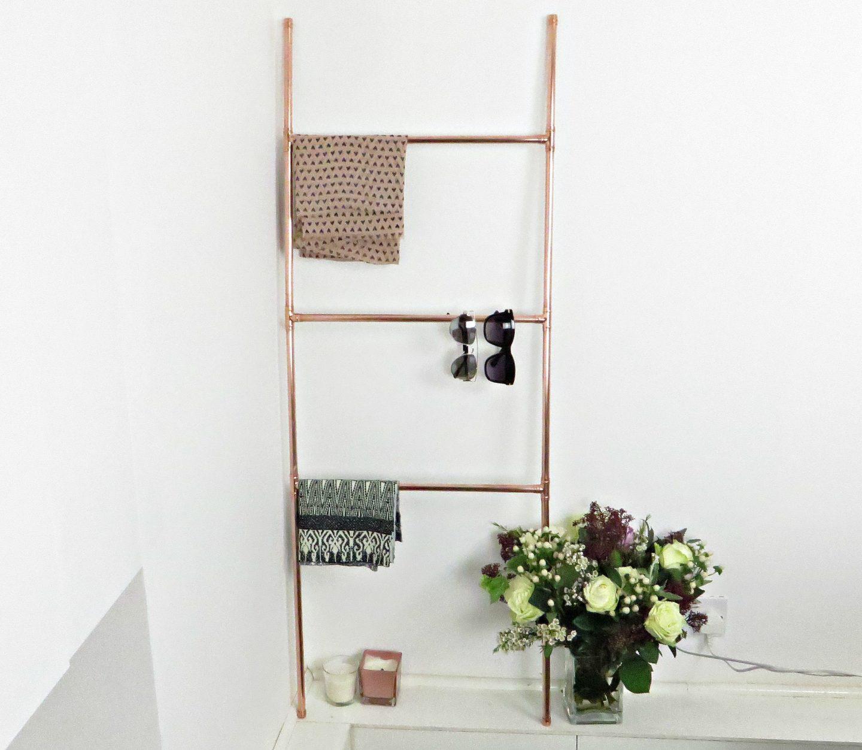 DIY: Copper Pipe Ladder