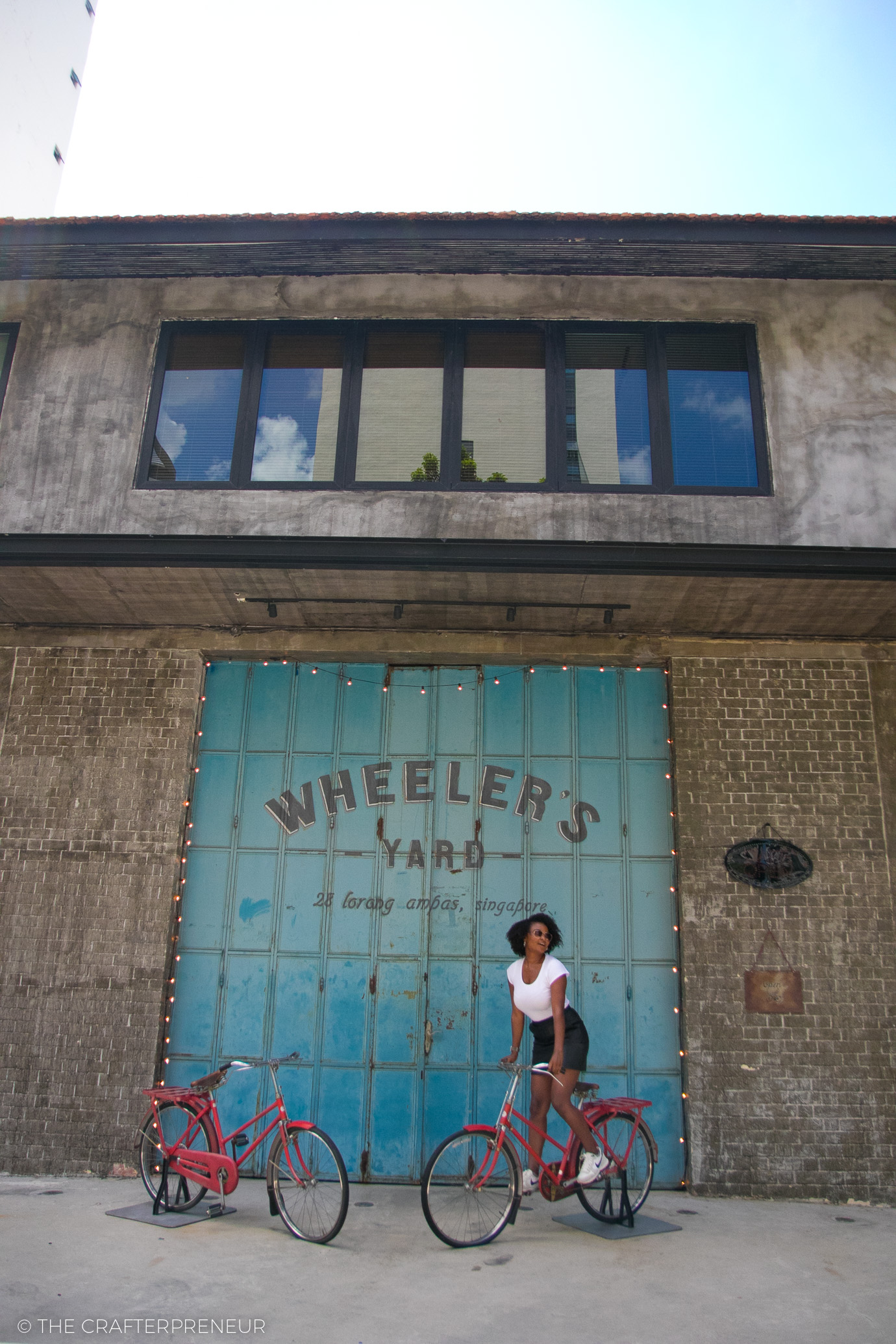 Wheeler's Yard Cafe, Singapore
