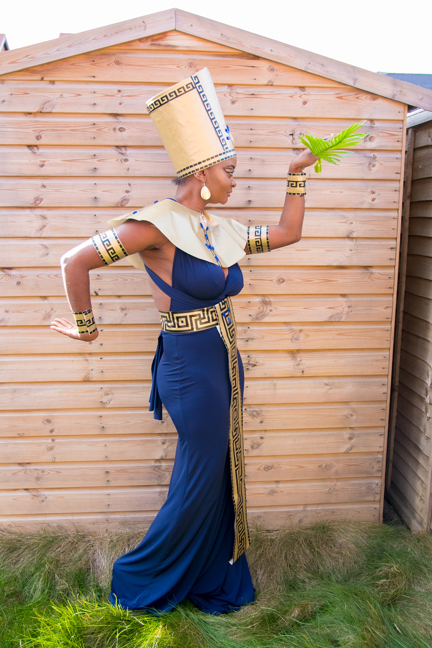 DIY EGYPTIAN GODDESS
