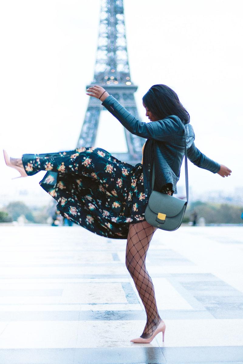 DIY Wrap Pants in Paris