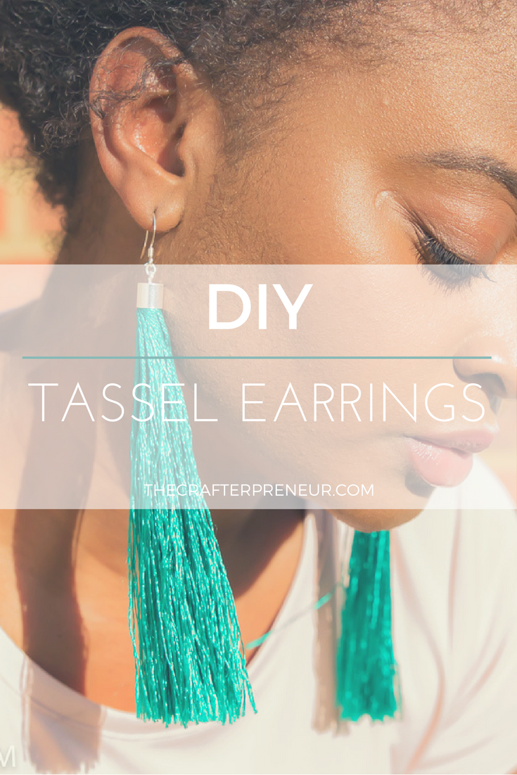 Diy Tassel Earrings The Crafterpreneur